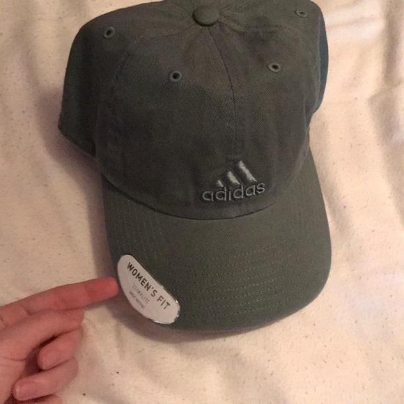 146fa586e46d8 Army green adidas Hat
